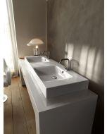 Lavabo doppia vasca CENTO 140x45 art. 3536