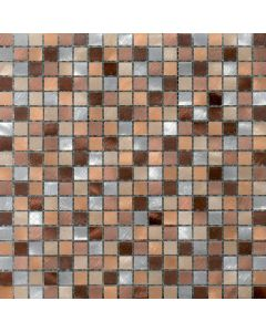 Mosaico ALUBRUSH/1,5 COLORATO  Moka art. 0577/ABS-30