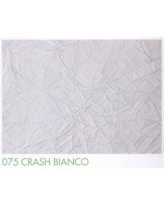 Tenda doccia in tessuto di poliestere plastificato art. 075 CRASH BIANCO