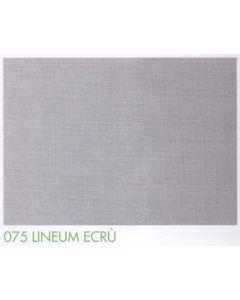 Tenda doccia in tessuto di poliestere plastificato art. 075 LINEUM ECRÙ