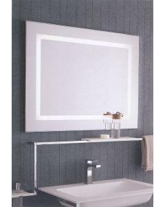 Specchio con led perimetrale e sabbiatura interna da 3 cm art. 1193