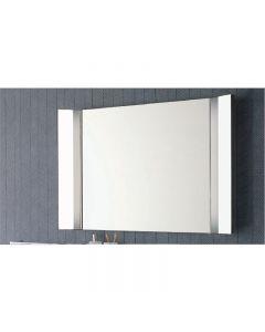 Specchio con luce orientabile doppia art. 1194