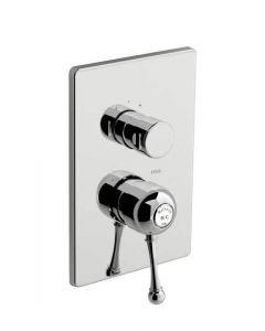 Miscelatore doccia incasso a due uscite MELROSE 70 art. 70.5017.8