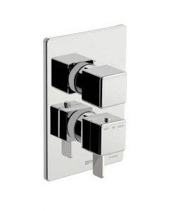 Miscelatore doccia incasso termostatico a due uscite DAILY 44 art. 85.8017.8