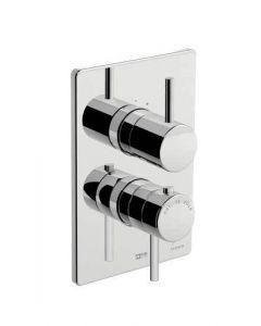 Miscelatore doccia incasso termostatico a due uscite SWEET 46 art. 88.8017.8
