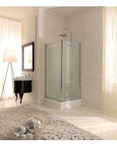Piatto doccia angolare RETRÒ 100x100 art. 1340
