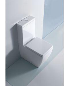 Vaso monoblocco EGO + cassetta + meccanismo scarico acqua alta art. 3217 art. 3181 art. 7521