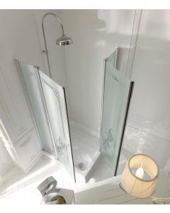 Piatto doccia angolare RETRÒ 80x96 SX art. 1337