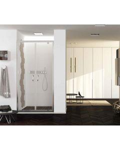 Porta doccia battente FUSION a 2 ante art. 239-TRA