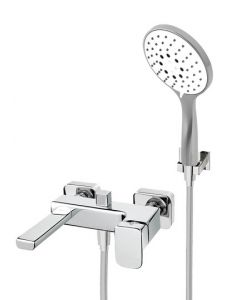 Miscelatore vasca a parete con doccetta DAILY 44 art. 44.3400.6
