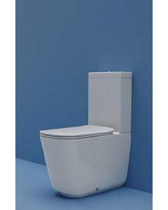 Vaso monoblocco TRIBECA + cassetta + meccanismo di scarico acqua bassa art. 5117 art. 3781 art. 7509