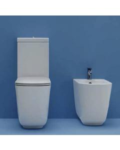 Vaso monoblocco TRIBECA + cassetta + meccanismo di scarico acqua alta art. 5117 art. 3781 art. 7521