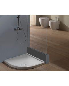 Piatto doccia DOCCIABELLA 80X80 angolo art. DBA80.AS