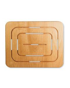 Pedana rettangolare per doccia 54X69 art. 641