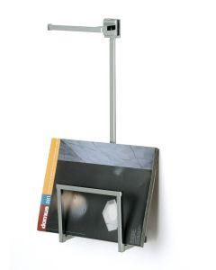 Porta riviste quadrato universale con porta rotolo art. 772/11 OZIO