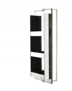 Specchio rettangolare con porta oggetti art. 851