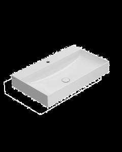 Lavabo T-EDGE 80.47 Bianco lucido art. B6R80BI