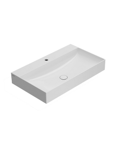 Lavabo T-EDGE 80.47 Bianco lucido art. B6R81BI