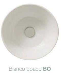 Piletta in ceramica scarico libero Bagno di Colore: BIANCO OPACO art. FI024BO