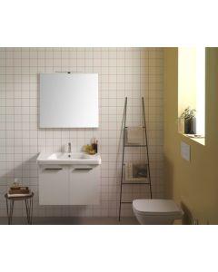 Specchiera con lampada 70 filo lucido art. BPL070