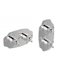 Miscelatore termostatico verticale/orizzontale 2 o 3 vie COLONIAL art. 212-CR