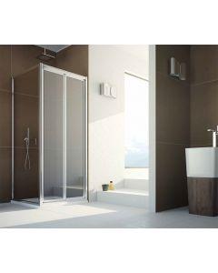 Porta doccia a soffietto combinabile CONTEMPORARY art. 143-TRA-C