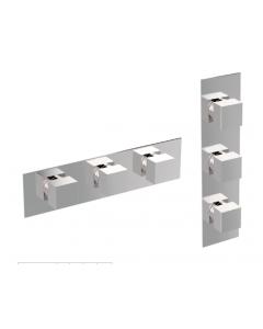 Miscelatore verticale/orizzontale 4 o 5 o 6 vie IL QUADRO art. 2131-CR