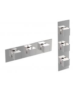 Miscelatore termostatico verticale/orizzontale 4 o 5 o 6 vie IL QUADRO art. 211-CR