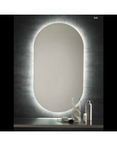 Specchio sagomato con LED permanente art. LV 01 LED