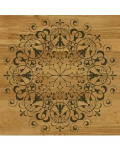 Parquet decorato art. rosette 1