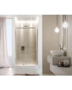 Porta doccia CONTEMPORARY ad 1 anta scorrevole art. 140-TRA