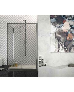 Porta doccia combinabile FUSION ad 1 anta scorrevole art. 240-TRA-C